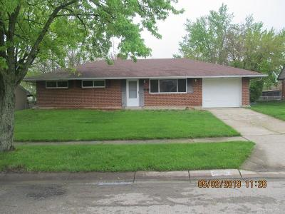 Huber Heights Single Family Home For Sale: 5037 Rye Drive