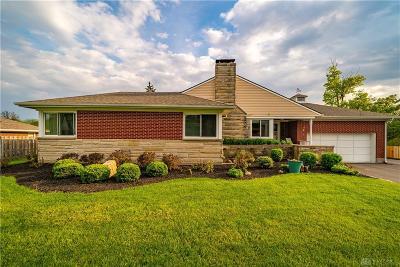 Beavercreek Single Family Home For Sale: 4105 Dayton Xenia Road