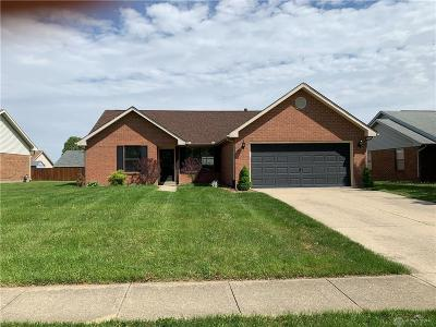 Huber Heights Single Family Home Pending/Show for Backup: 6837 Shull Road