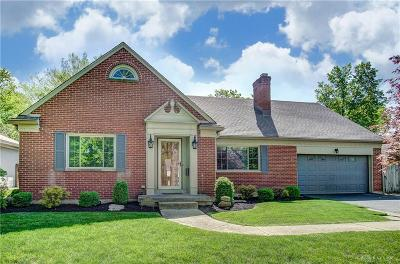 Kettering Single Family Home Pending/Show for Backup: 4070 Stonehaven Road