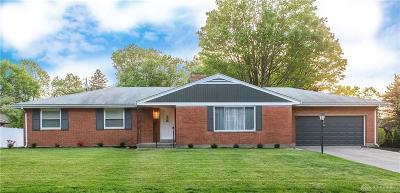 Kettering Single Family Home For Sale: 4489 Mapleridge Place