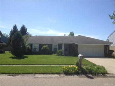 Huber Heights Single Family Home Pending/Show for Backup: 8613 Deer Haven Street