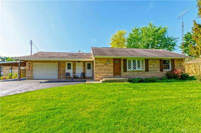 Fairborn Single Family Home Pending/Show for Backup: 3075 Old Yellow Springs Road