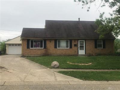 Huber Heights Single Family Home For Sale: 7754 Redbank Lane