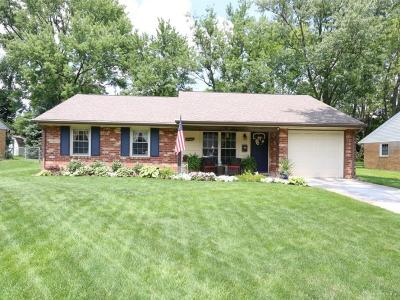 Bellbrook Single Family Home For Sale: 4440 Hillcrest Drive