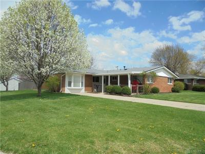 Fairborn Single Family Home For Sale: 1310 Mapleridge Drive