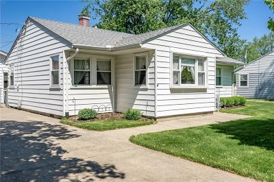 Kettering Single Family Home For Sale: 2129 Pittsfield Street