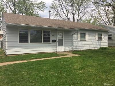 Dayton Single Family Home For Sale: 4625 Woodbine Avenue