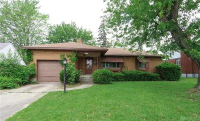 Dayton Single Family Home For Sale: 4119 Parkway Drive