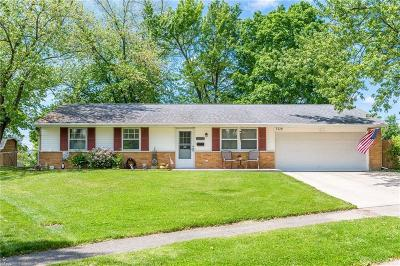 Dayton Single Family Home Pending/Show for Backup: 7712 Redbank Lane