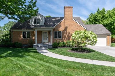 Kettering Single Family Home For Sale: 3225 Atherton Road