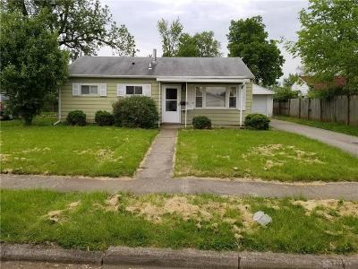 Fairborn Single Family Home For Sale: 206 Erie Avenue