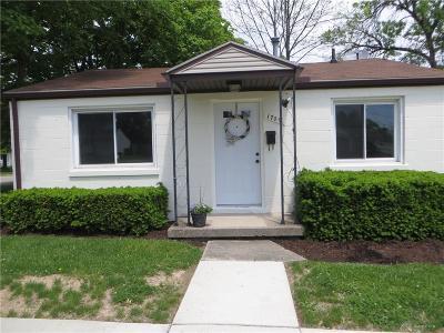 Kettering Single Family Home For Sale: 1709 Forrer Boulevard