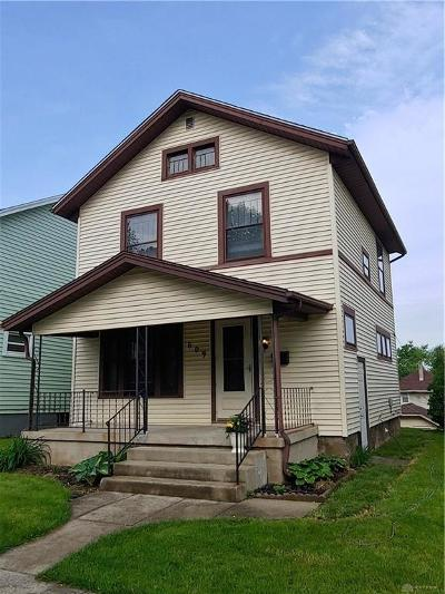 Dayton Single Family Home For Sale: 609 Creighton Avenue