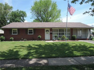 Kettering Single Family Home For Sale: 2916 Blackhawk Road