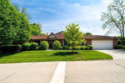 Montgomery County Single Family Home For Sale: 7124 Fallen Oak Trace