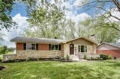 Dayton Single Family Home Pending/Show for Backup: 4369 Tangent Drive