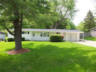 Beavercreek Single Family Home Pending/Show for Backup: 1779 Central Drive