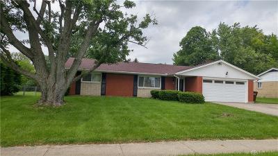 Dayton Single Family Home For Sale: 1675 Shiloh Springs Road