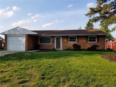 Xenia Single Family Home For Sale: 1566 Pueblo Drive
