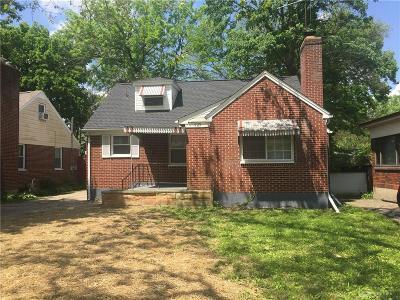 Dayton Single Family Home For Sale: 1725 Newton Avenue