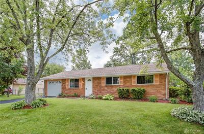 Dayton Single Family Home For Sale: 7408 Treon Place