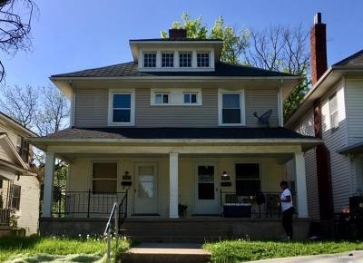 Dayton Multi Family Home For Sale: 227-229 Delaware Avenue