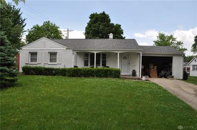 Tipp City Single Family Home Pending/Show for Backup: 13 Warner Drive