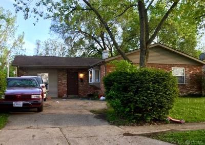 Dayton OH Single Family Home For Sale: $38,100