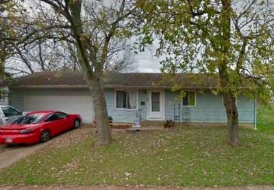 Dayton OH Single Family Home For Sale: $34,100