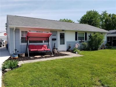 Dayton Single Family Home For Sale: 5449 Plainfield Road
