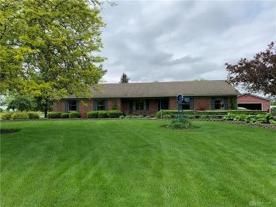Brookville Single Family Home For Sale: 8345 Pleasant Plain Road