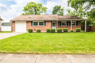Vandalia Single Family Home Pending/Show for Backup: 343 Alkaline Springs Road
