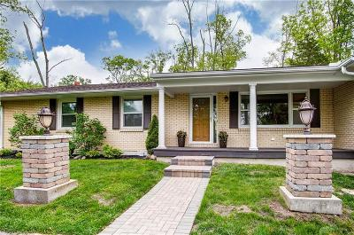 Springboro Single Family Home Pending/Show for Backup: 6820 State Route 48