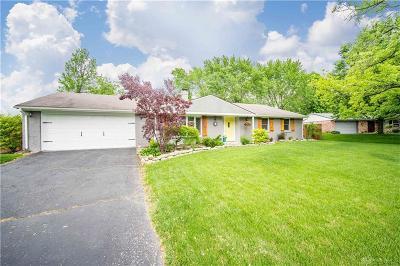 Dayton Single Family Home For Sale: 511 Lewisham Avenue