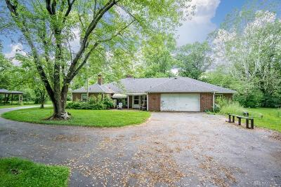 Dayton Single Family Home For Sale: 8753 Clyo Road