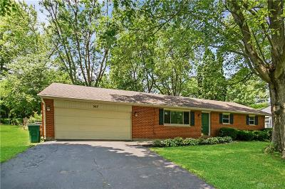 Beavercreek Single Family Home Pending/Show for Backup: 367 Dove Drive