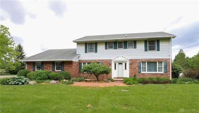 West Milton Single Family Home For Sale: 8725 State Route 571