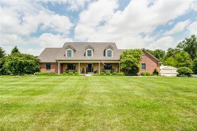 Tipp City Single Family Home For Sale: 3349 Montgomery County Line Road