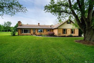Dayton Single Family Home For Sale: 8665 Clyo Road