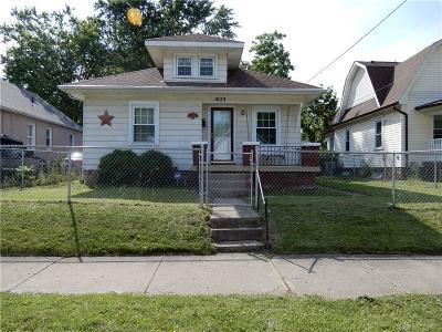 Springfield Single Family Home For Sale: 1023 Burt Street