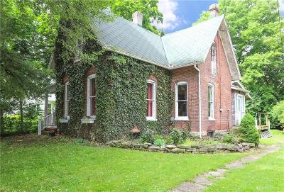 Yellow Springs Vlg Single Family Home For Sale: 128 Walnut Street