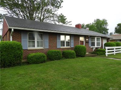 Vandalia Single Family Home Pending/Show for Backup: 702 Greenhurst Drive