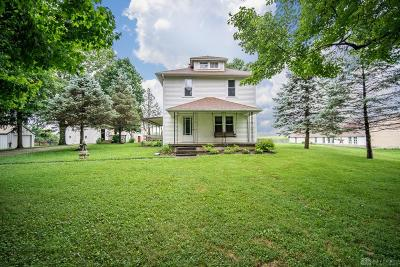 Xenia Single Family Home For Sale: 185 Valley Road