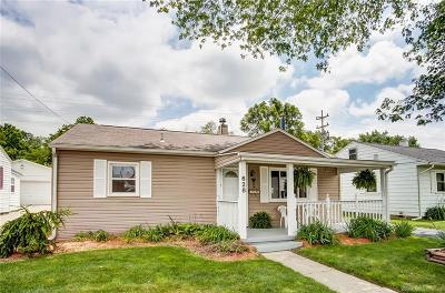 Springfield Single Family Home For Sale: 628 Mavor Street