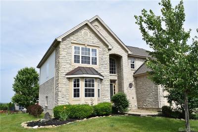 Springboro Single Family Home For Sale: 9319 Remington Hill Road