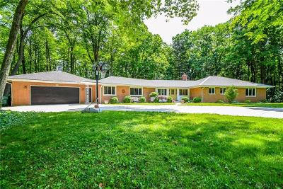 Kettering Single Family Home For Sale: 4350 Delco Dell Road