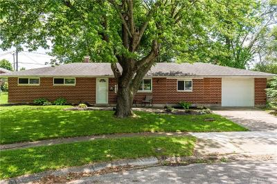 Huber Heights Single Family Home Pending/Show for Backup: 5713 Hubbard Court