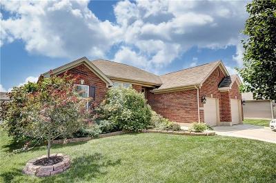 Tipp City Single Family Home For Sale: 4257 Bergamot Drive