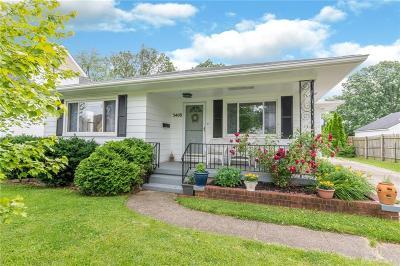 Kettering Single Family Home For Sale: 3408 Oakmont Avenue
